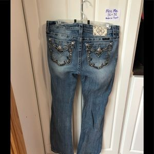 Miss Me women's jeans size 30 inseam 30 bling